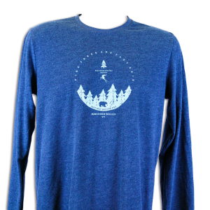 Backcountry Skiing Long Sleeve T-Shirt