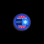 """Mad River Valley Helmet Sticker 2""""x1"""""""