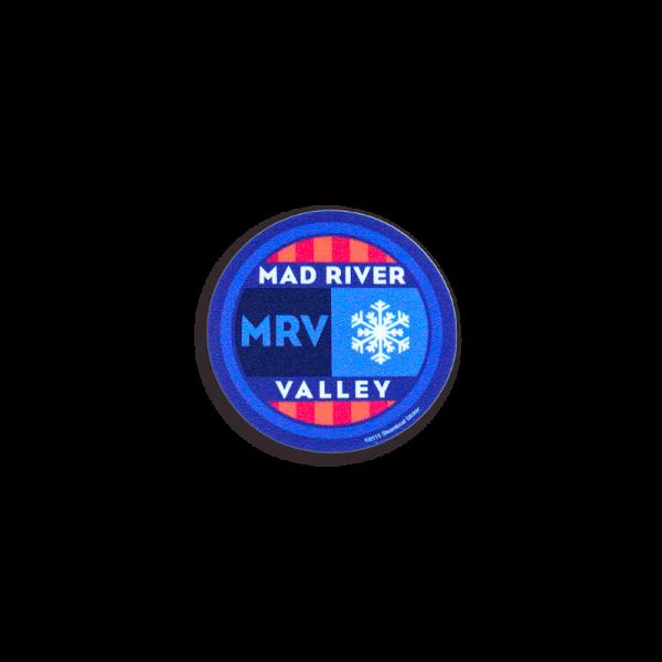 Mad River Valley Helmet Sticker 2x1