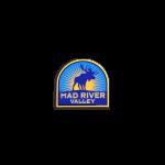 "Mad River Moose Helmet Sticker 2""x1"""