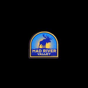 Mad River Moose Helmet Sticker