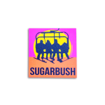 "Sugarbush Never Ending Winter Sticker 3""x2"""