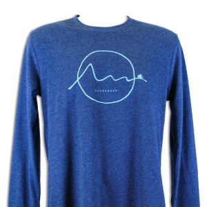 Sine Skier Long Sleeve T-Shirt