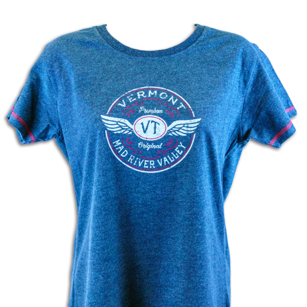 Vermont Mad River Valley Girl T-Shirt