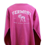 Youth Vermont Moose Long Sleeve T-Shirt