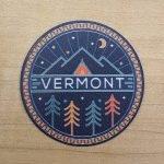 Vermont Mountains & Trees Sticker